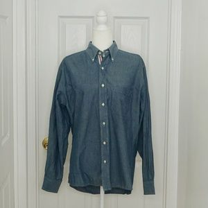 BILLS KHAKIS Blue Button Down Shirt (Size M)